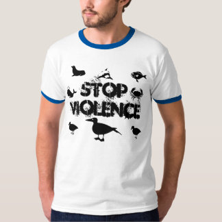 stop violence t-shirt