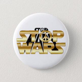 Stop Wars 6 Cm Round Badge
