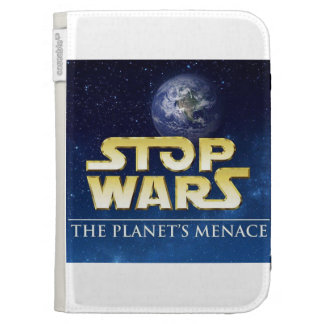 STOP WARS CASE FOR THE KINDLE