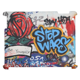 Stop Wars graffiti Case For The iPad 2 3 4