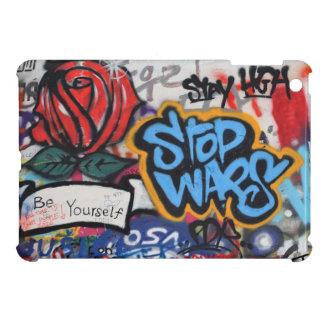 Stop Wars graffiti iPad Mini Covers