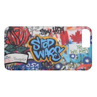 Stop Wars graffiti iPhone 8 Plus/7 Plus Case