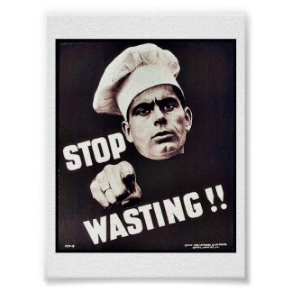 Stop Wasting Posters