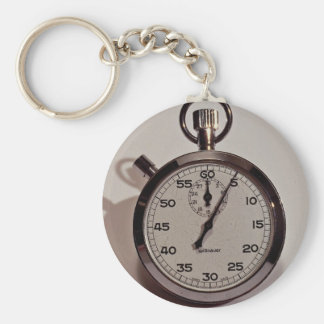 Stop watch key ring