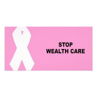 STOP WEALTH CARE PHOTO CARD TEMPLATE