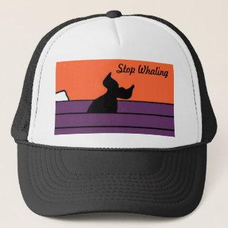 Stop Whaling Trucker Hat