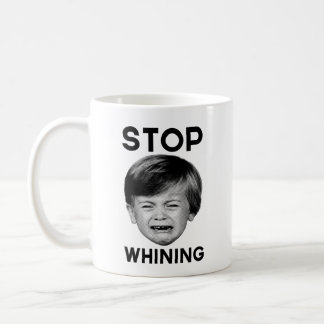 Stop Whining Basic White Mug