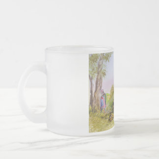 stop whining frosted glass coffee mug