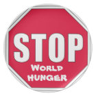 Stop! World Hunger Plate