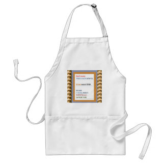 Stop Worrying,  Argue but don't stop talking Aprons