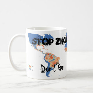 Stop Zika / Support Research Mug by RoseWrites