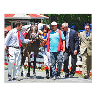 Stopchargingmaria victorious in her first race. photo