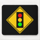 Stoplight Ahead Mouse Mat