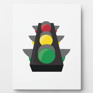 Stoplight_Base Photo Plaque