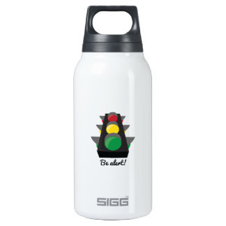 Stoplight_BeAlert 10 Oz Insulated SIGG Thermos Water Bottle