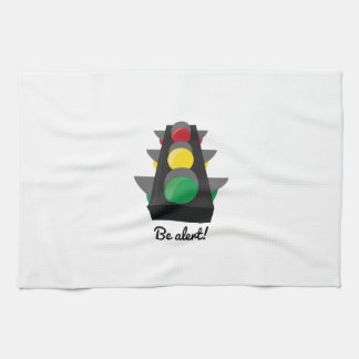 Stoplight_BeAlert Towels