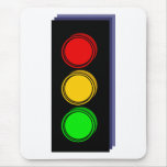 Stoplight Extruded Mouse Pads