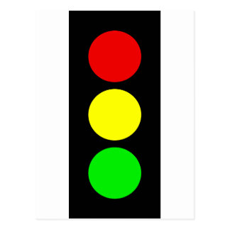 Stoplight Postcard