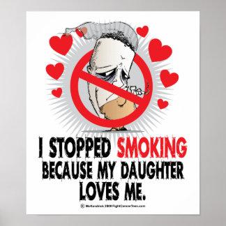 Stopped Smoking Daughter Poster