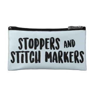 Stoppers and Stitch Markers Zipper Pouch