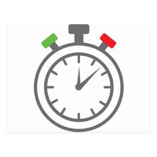 stopwatch - alarm timer postcards