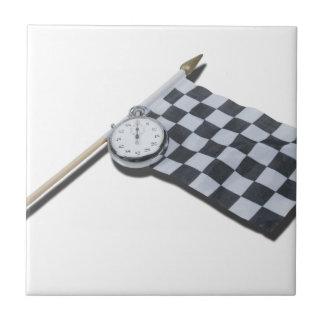 StopwatchRacingFlag111112 copy.png Ceramic Tile
