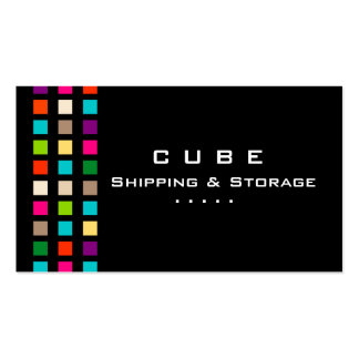 Storage Business Card Box Black Colorful