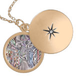 Store abstract pattern pendant