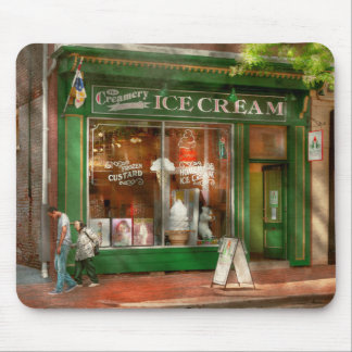 Store Front - Alexandria, VA - The Creamery Mouse Pad