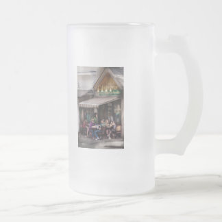 Store Front -  Gabi's Sushi & Noodles Frosted Glass Mug