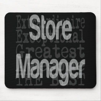 Store Manager Extraordinaire Mouse Pad