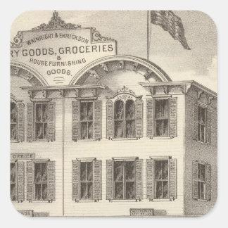 Store property of Wainright & Errickson Square Sticker