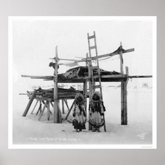 Storing Food in Alaska 1916 Poster