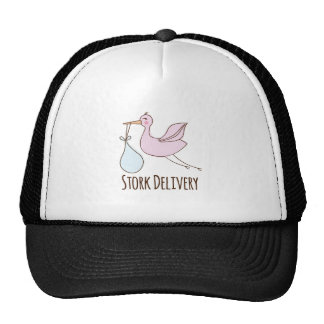 Stork Delivery Trucker Hat