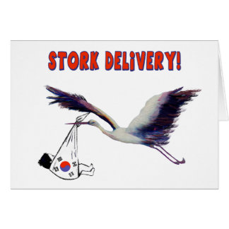 Stork Delivery! Card