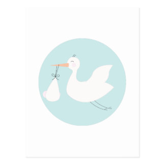 Stork Delivery Post Cards