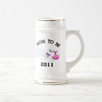Stork Mom to Be Mug