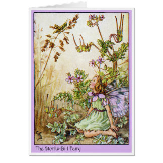 Storks Bill Fairy Card