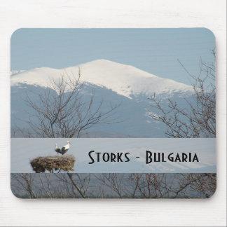 Storks - Bulgaria 2 Mouse Mat