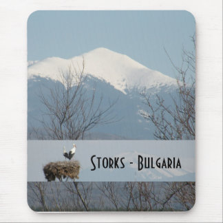 Storks - Bulgaria 2 Mouse Pad
