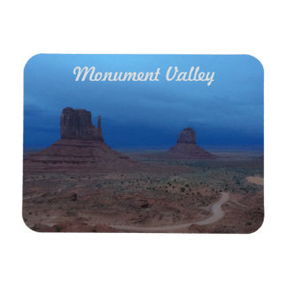 Storm and Sunset in Monument Valley Magnet