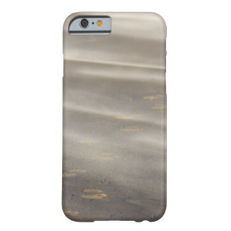 storm blowing shifting sand over boot prints 2 barely there iPhone 6 case