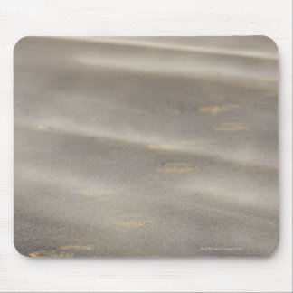 storm blowing shifting sand over boot prints 2 mouse pad
