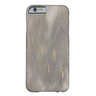 storm blowing shifting sand over boot prints barely there iPhone 6 case