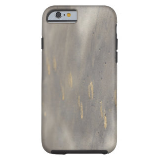 storm blowing shifting sand over boot prints tough iPhone 6 case