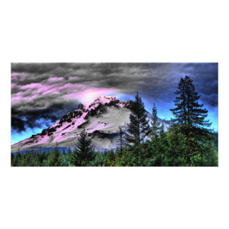 Storm_Brew_Mount_Hood Personalized Photo Card
