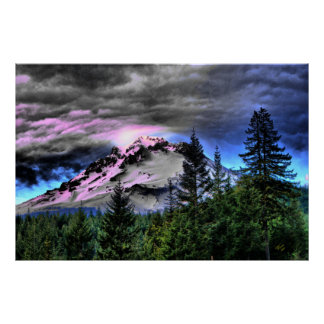 Storm Brew Mount Hood Posters