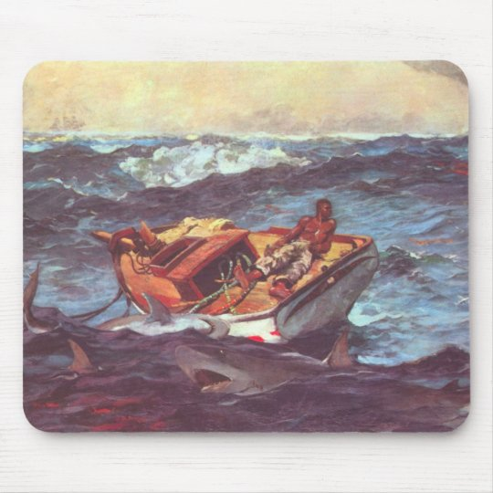 Storm by Winslow Homer Mouse Mat