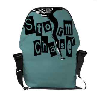 Storm CHaser Box Letters Commuter Bag