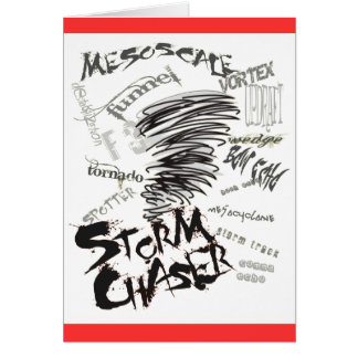 Storm Chaser Greeting Card